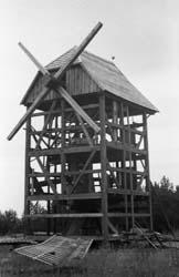 Budowa wiatraka z Rzędzian