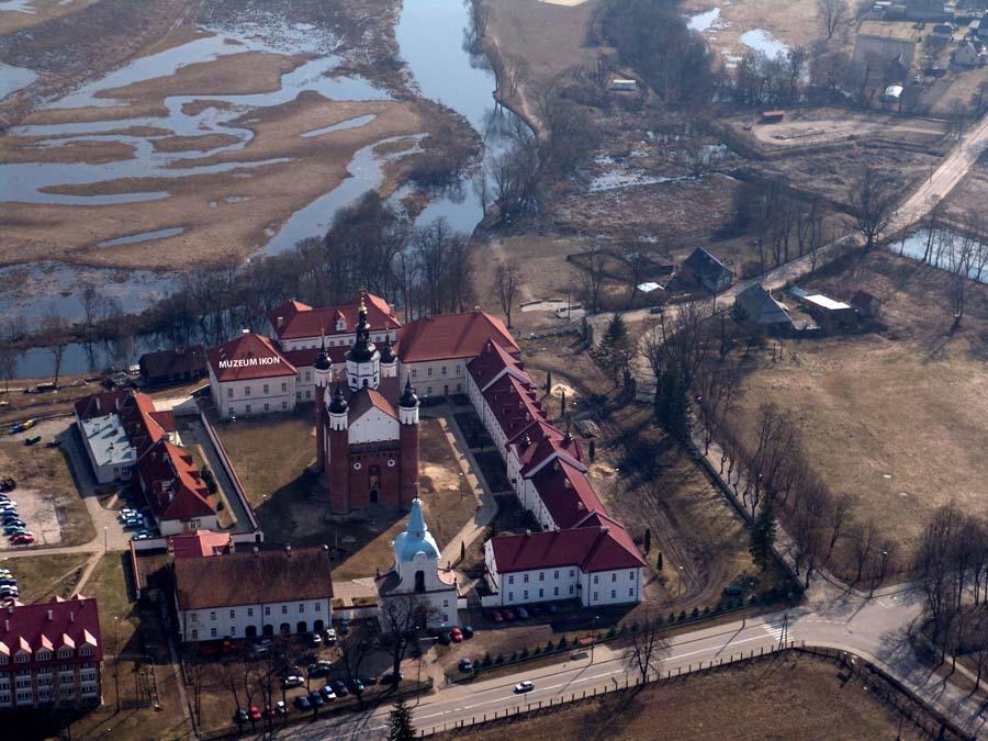 Siedziba Muzeum Ikon w Supraślu