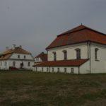 Wielka Synagoga i Dom Talmudyczny w Tykocinie przed remontem.