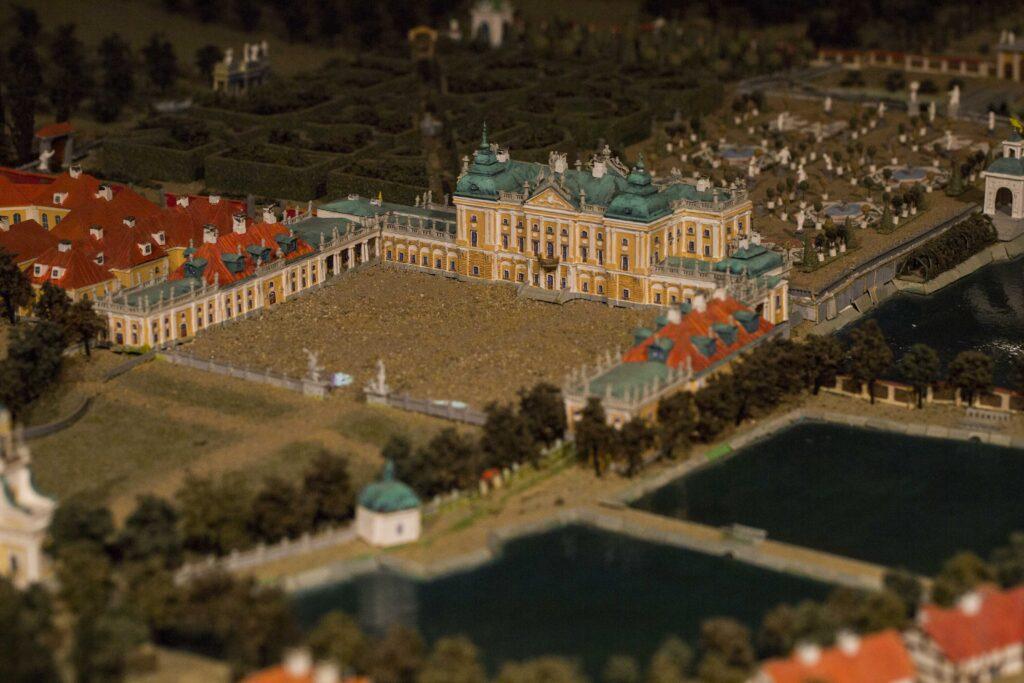 Na zdjęciu widać makietę przedstawiającą osiemnastowieczny Białystok za czasów Jana Klemensa Branickiego