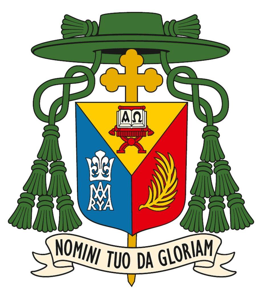 Barwne logo Biskupa Drohiczyńskiego Piotra Sawczuka