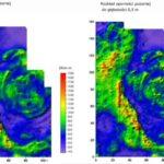 Wyniki prospekcji elektrooporowej zaprezentowane w szerokim zakresie barw