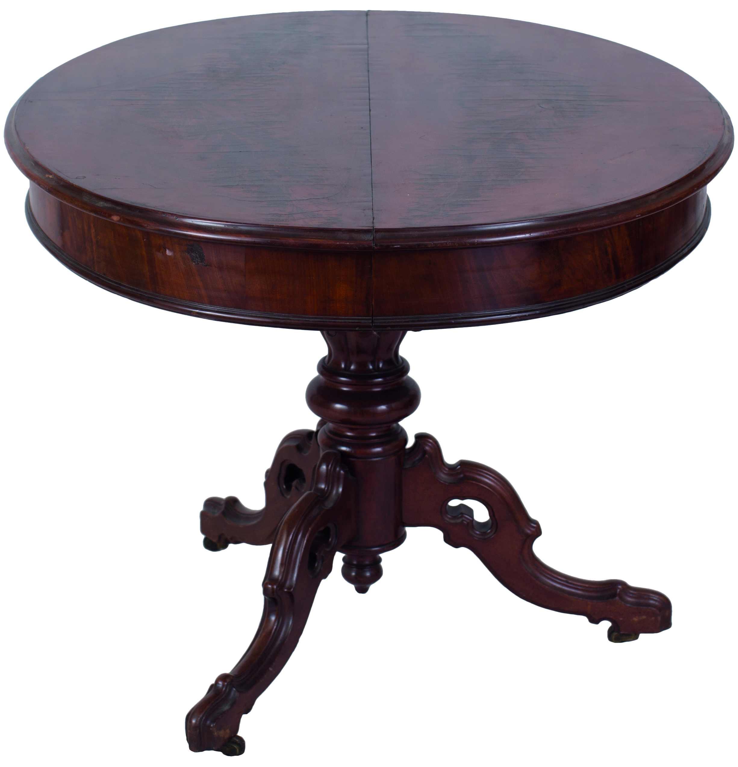 Drewniany stolik okolicznościowy