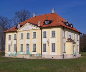 Widok na Pałac Branickich w Choroszczy