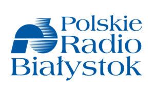 Kolorowe logo Polskiego Radia Białystok.